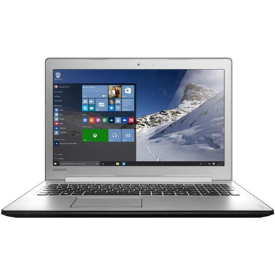 Ноутбук 15' Lenovo IdeaPad 510-15 (80SR00HURA) Black, 15.6', матовый LED FullHD (1920x1080) IPS, Intel Core i3-6100U 2.3GHz, DDR4 4Gb, HDD 1Tb, nVidia GeForce 940MX 2Gb, DVD, Dos