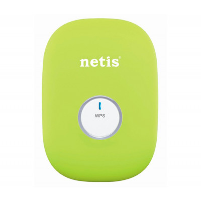 Wi-Fi повторитель Netis E1+ Green Range Extender, 300Mbps, travel Router