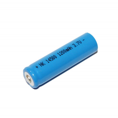 Аккумулятор Bailong 14500 Li-ion 1200mah 3.7V blue