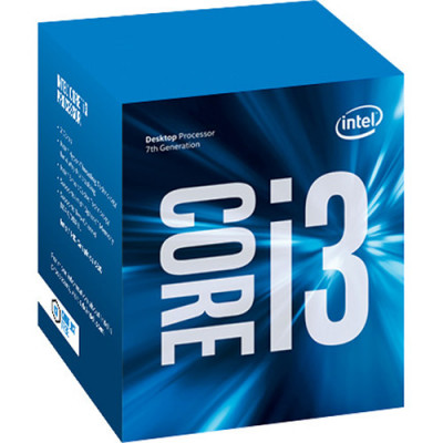 Процессор Intel Core i3 (LGA1151) i3-7100, Box, 2x3,9 GHz, HD Graphic 630 (1100 MHz), L3 3Mb, Kaby Lake, 14 nm, TDP 51W (BX80677I37100) Б/Н