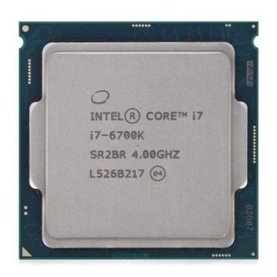 Процессор Intel Core i7 (LGA1151) i7-6700K, Tray, 4x4,0 GHz (Turbo Boost 4,2 GHz), HD Graphic 530 (1150 MHz), L3 8Mb, Skylake, 14 nm, TDP 91W (CM8066201919901), разблокированный множитель