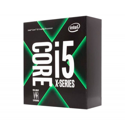 Процессор Intel Core i5 (LGA2066) i5-7640X, Box, 4x4,0 GHz (Turbo Boost 4,2 GHz), L3 6Mb, Kaby Lake-X, 14 nm, TDP 112W (BX80677I57640X), Разблокированный множитель