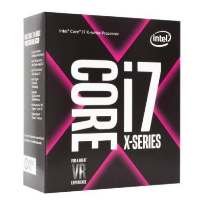 Процессор Intel Core i7 (LGA2066) i7-7800X, Box, 6x3,5 GHz (Turbo Boost 4,0 GHz), L3 8.25Mb, Skylake-X, 14 nm, TDP 140W (BX80673I77800X), Разблокированный множитель