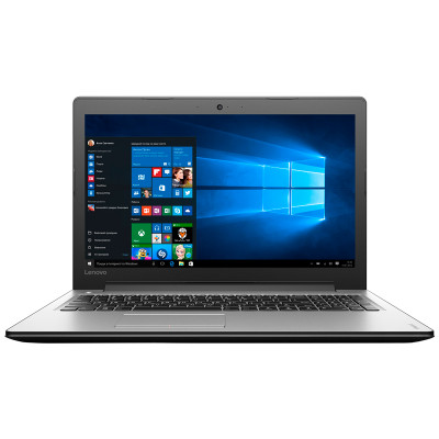 Ноутбук 15' Lenovo IdeaPad 310-15ISK Silver (80SM0202RA) 15.6' глянцевый LED FullHD (1920x1080), Intel Core i3-6006U 2.0GHz, DDR 4Gb, HDD 1Tb, nVidia GeForce 920MX 2Gb, noDVD, Windows 10 Home