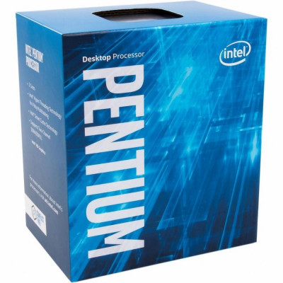 Процессор Intel Pentium (LGA1151) G4620, Box, 2x3,7 GHz, HD Graphic 630 (1100 MHz), L3 3Mb, Kaby Lake, 14 nm, TDP 51W (BX80677G4620)