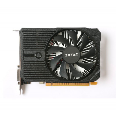 Видеокарта GeForce GTX1050Ti, Zotac, Mini, 4Gb DDR5, 128-bit, DVI/HDMI/DP, 1417/7000 MHz (ZT-P10510A-10L)