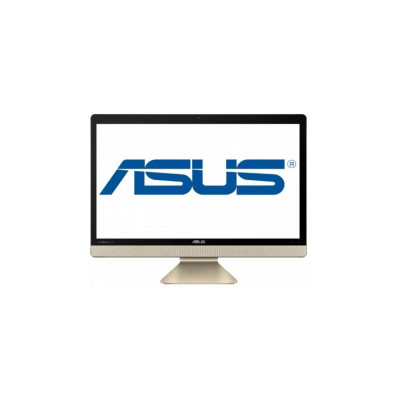 Моноблок Asus Vivo AiO V221IDUK-BA012D, Black/Gold, 21.5' LED FullHD (1920x1080), Intel Celeron J3355 (2 x 2.0-2.5GHz), 4Gb DDR3, 500Gb HDD, Intel HD Graphics 500, WiFi b/g/n, BT4.0, Web, 4xUSB3.1/1xUSB2.0, HDMI, DOS (90PT01Q1-M01830)