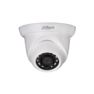 IP камера Dahua DH-IPC-HDW1220SP-0280B-S3 /2.8, White, 1.3 Mp, 1/3' CMOS, f=2.8 мм, H.264/MJPEG, ИК подсветка 30 м, IP66, DC12В/PОE