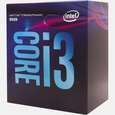 Процессор Intel Core i3 (LGA1151) i3-8100, Box, 4x3,6 GHz, UHD Graphic 630 (1100 MHz), L3 6Mb, Coffee Lake, 14 nm, TDP 65W (BX80684I38100), работает только на Z370 чипсете !
