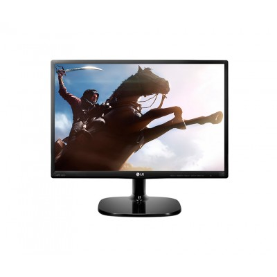 Монитор 19.5' LG 20MP48A-P, Black, WLED, IPS, 1440x900, 5 мс, 200 кд/м2, 1000:1, 178°/178°, VGA