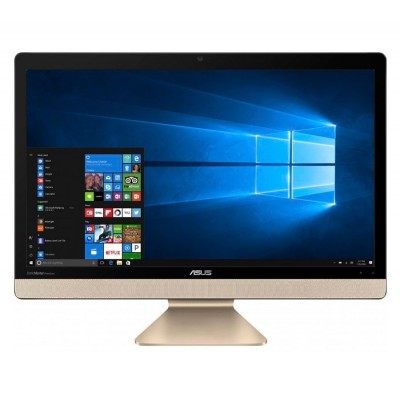 Моноблок Asus Vivo AiO V221ICGK-BA013D, Black/Gold, 21.5' LED FullHD (1920x1080), Intel Celeron J3355 (2 x 2.5GHz), 4Gb DDR3, 1Tb HDD, HD Graphics 500, WiFi b/g/n, BT4.0, Web, 4xUSB3.1/1xUSB2.0, HDMI, DOS (90PT01Q1-M01850)
