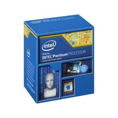 Процессор Intel Pentium (LGA1150) G3260, Box, 2x3,3 GHz, HD Graphic (1100 MHz), L3 3Mb, Haswell, 22 nm, TDP 53W (BX80646G3260)