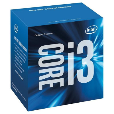 Процессор Intel Core i3 (LGA1151) i3-7100, Box, 2x3,9 GHz, HD Graphic 630 (1100 MHz), L3 3Mb, Kaby Lake, 14 nm, TDP 51W (BX80677I37100)