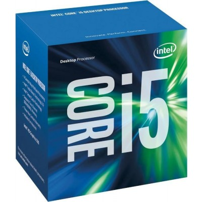 Процессор Intel Core i5 (LGA1151) i5-6400, Box, 4x2,7 GHz (Turbo Boost 3,3 GHz), HD Graphic 530 (950 MHz), L3 6Mb, Skylake, 14 nm, TDP 65W (BX80662I56400)