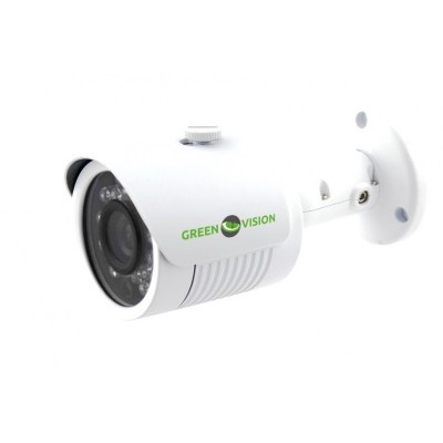 IP камера Green Vision GV-004-IP-E-COS14-20, White, 2Mp, IMX238, 1280x960, f=3.6 mm, 0.01Lux, ИК подсветка до 20 м, IP66, 500 г
