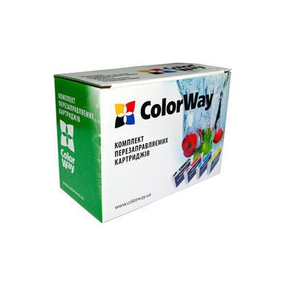 НПК ColorWay Canon iP3600/4600/4700/4840, MP540/550/560/620, MG5140/5240, без чипов, 4х100 г чернил (IP3600RN-4.1)
