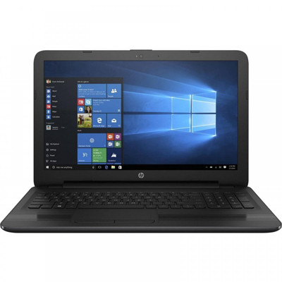 Ноутбук 15' HP 250 G5 (W4M67EA) Black, 15.6', матовый WXGA HD (1366x768), Intel Celeron N3060 (1.6 - 2.48 ГГц), DDR3 4Gb, HDD 500Gb, Intel HD Graphics 400, DVD Super Multi DL, Dos