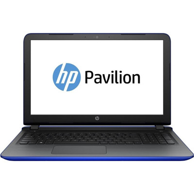 Ноутбук 15' HP Pavilion 15-ab252ur (V2H26EA) Blue, 15.6', матовый Full HD LED (1920x1080), Intel Core i5-6200U (2.3 - 2.8 ГГц), DDR4 16Gb, HDD 2Tb,  nVidia GeForce GT 940M 2Gb, DVD Super Multi, Dos