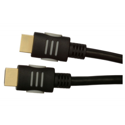 Кабель HDMI to HDMI 1.5m Tecro HD 01-50 V.1.4, позол. коннект.,