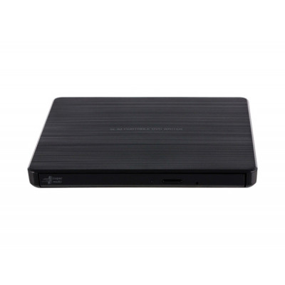 Внешний оптический привод H-L Data Storage GP60NB60, Black, DVD+/-RW, USB 2.0 (GP60NB60.AUAE12B)