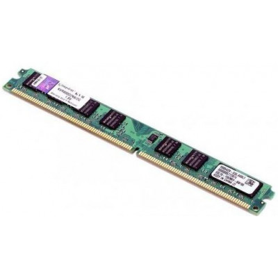 Память 2Gb DDR2, 800 MHz (PC6400), Kingston, CL6 (KVR800D2N6/2G)