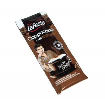 Капучино LaFesta Chocolate, 10 стиков x 12.5 г