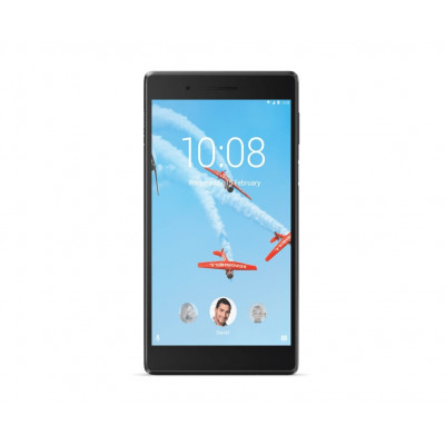 Планшетный ПК 7' Lenovo TAB 4-7504X (ZA380023UA) Black, емкостный Multi-Touch (1280x720) IPS, MediaTek MT8735B Quad Core 1.3GHz, RAM 2Gb, ROM 16Gb, microSD (max 64Gb), A-GPS, LTE, Wi-Fi, BT, 2 Cam (5Mp + 2Mp), 3500mAh, Android 7.0