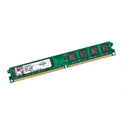 Память 2Gb DDR2, 667 MHz (PC5300), Kingston, Slim (KVR667D2N5/2G)