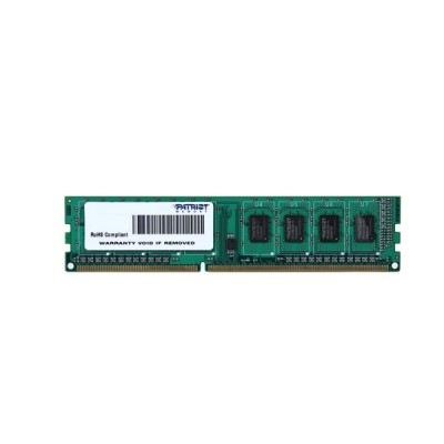 Память 4Gb DDR3, 1600 MHz, Patriot, 11-11-11-28, 1.5V (PSD34G160081)