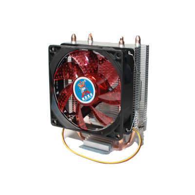 Вентилятор CPU Cooling Baby R90 RED LED 775/1150/1151/1155/1156/AM4/FM1/FM2/AM2/AM2+/AM3  93*133*130мм
