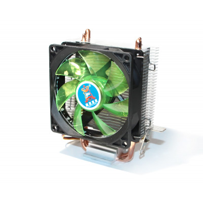 Вентилятор CPU Cooling Baby R90 GREEN LED 775/1150/1151/1155/1156/AM4/FM1/FM2/AM2/AM2+/AM3 93*133*130 мм