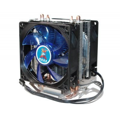 Вентилятор CPU Cooling Baby R90 BLUE LED2 fans 1366/775/1150/1151/1155/1156/FM1/FM2/AM4/AM2/AM2+/AM3 93*133*130 мм