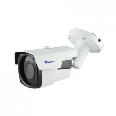 IP камера EvoVizion IP-2.4-917VF (PoE), White, 4Mp, OV9732, 1920×1080, H.264/JPEG/AVI, f=2.8 мм, ИК-подсветка до 40 метров, RJ45, IP66, 291 x 91 x 87 мм
