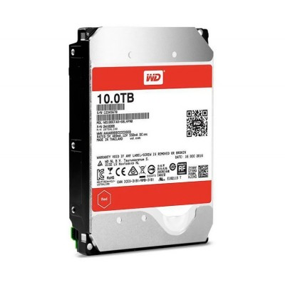 Жесткий диск 3.5' 10Tb Western Digital Red, SATA3, 256Mb, 5400 rpm (WD100EFAX)
