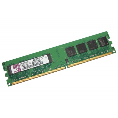 Память 2Gb DDR2, 800 MHz (PC6400), Kingston, 11-11-11-28, 1.5V (HP5189-2180-ELC)