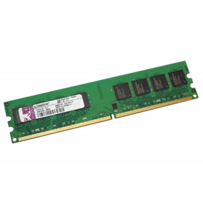 Память 2Gb DDR2, 800 MHz (PC6400), Kingston, 11-11-11-28, 1.5V (KYG410-ELC)