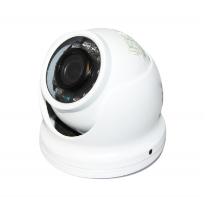 Камера AHD Green Vision GV-032-AHD-E-DOA10-10 720р, White, 1/4' Aptina, 720p / 25 fps, f=3.6 mm, 0.01 Lux, ИК подсветка до 10 м, 300 г