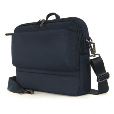 Рюкзак для ноутбука 11.6' Tucano Dritta MacBook Air, Dark Blue, полиэстер, 22 х 24 х 6 см (BDR11-B)