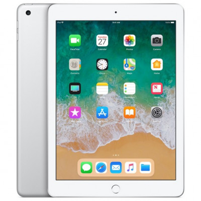 Tablet PC Apple iPad 9.7 2018 A1893 Wi-Fi 128GB Silver (MR7K2) (6th Generation) (14 дней)