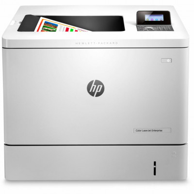 Принтер лазерный цветной A4 HP Color LJ Enterprise M552dn (B5L23A), White, 1200x1200 dpi, дуплекс, до 33 стр/мин, ЖК-экран, USB / Lan (картриджи CF360A, CF361A, CF362A, CF363A)