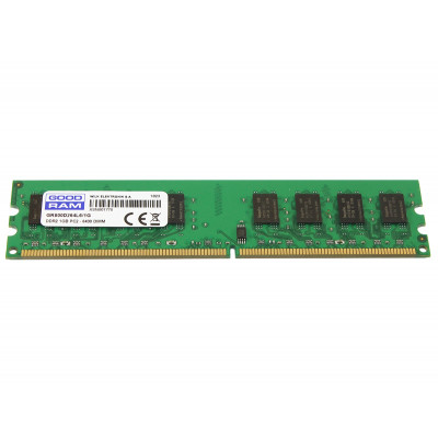 Память 1Gb DDR2, 800 MHz (PC6400), Goodram, CL6 (GR800D264L6/1G)