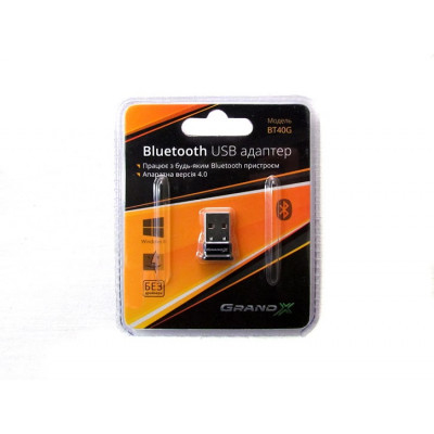 Контроллер USB - Bluetooth VER 4.0 Grand-X ( BT40G)