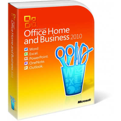 Программное обеспечение MS Office 2010 Home and Business 32-bit/x64 Russian CEE DVD BOX (T5D-00412)