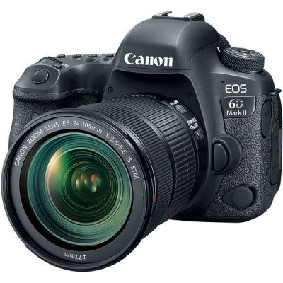 Зеркальный фотоаппарат Canon EOS 6D MKII kit 24-105 IS STM, Black (1897C030)