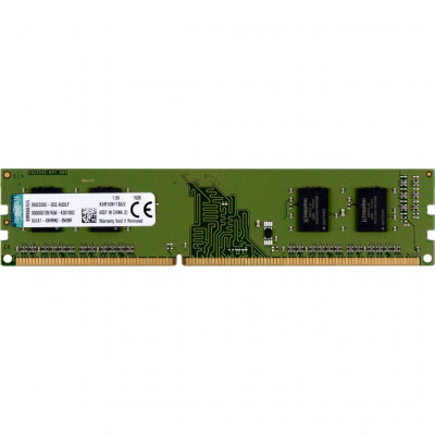 Память 2Gb DDR3, 1600 MHz, Kingston, 11-11-11-28, 1.5V (KVR16N11S6/2)