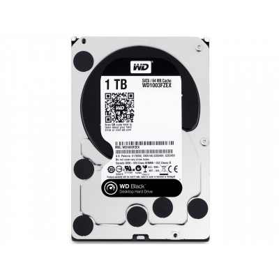 Жесткий диск 3.5' 1Tb Western Digital Black, SATA3, 64Mb, 7200 rpm (WD1003FZEX)