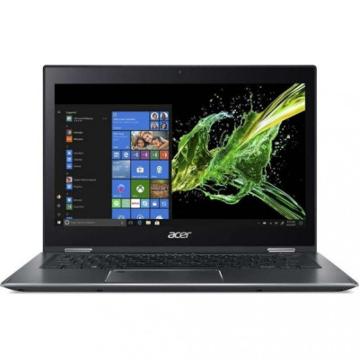 Ноутбук 13' Acer Spin 5 SP513-53N-524J (NX.H62EU.033) Steel Gray 13.3' матовый Full HD, Multitouch (1920x1080) IPS, Intel Core i5-8265U 1.6-3.9GHz, RAM 8Gb, SSD 256Gb, Intel UHD Graphics 620, noDVD, Windows 10 Home, клавиатура с подсветкой