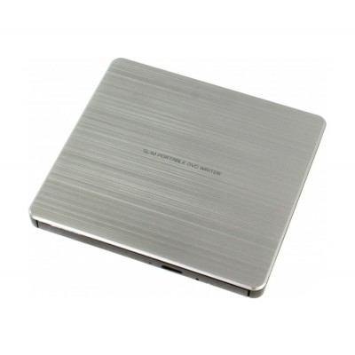 Внешний оптический привод H-L Data Storage GP60NS60, Silver, DVD+/-RW, USB 2.0 (GP60NS60.AUAE12S)