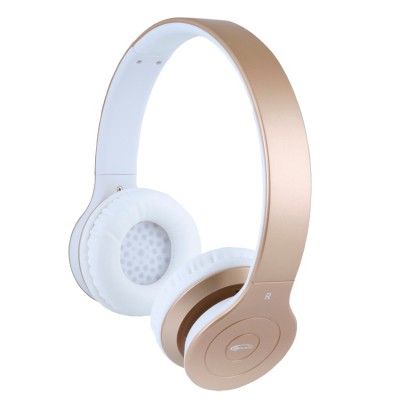 Гарнитура Bluetooth Gemix BH-07 Gold, Bluetooth V3.0+EDR, накладные